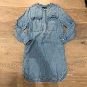 J. Crew chambray shirtdress